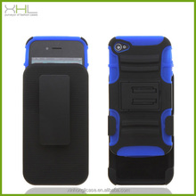 Robot belt clip cell phone case for iphone 4s wholesale case