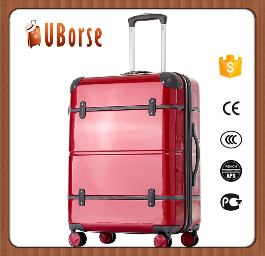 3 piece valise new rose abs hard case trolley travel bags cases
