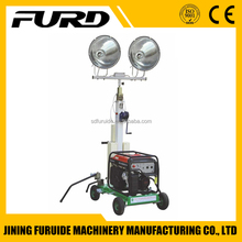 Mini Movable Industrial Portable Lighting Tower with HONDA Generator (FZM-1000A)