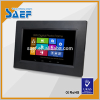"7"" inch 800x480 16:9 IPS viewing angle indoor lcd tablet android advertising player"