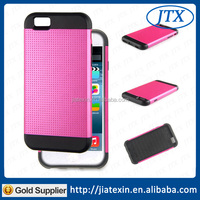 New Item Silicon+PC Soft Slim Armour Case For iPhone 6 Back Cover Case