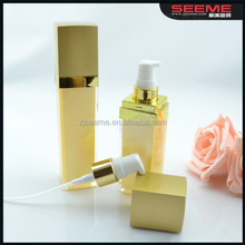 Classic style square acrylic lotion bottle with sprayer 15ml