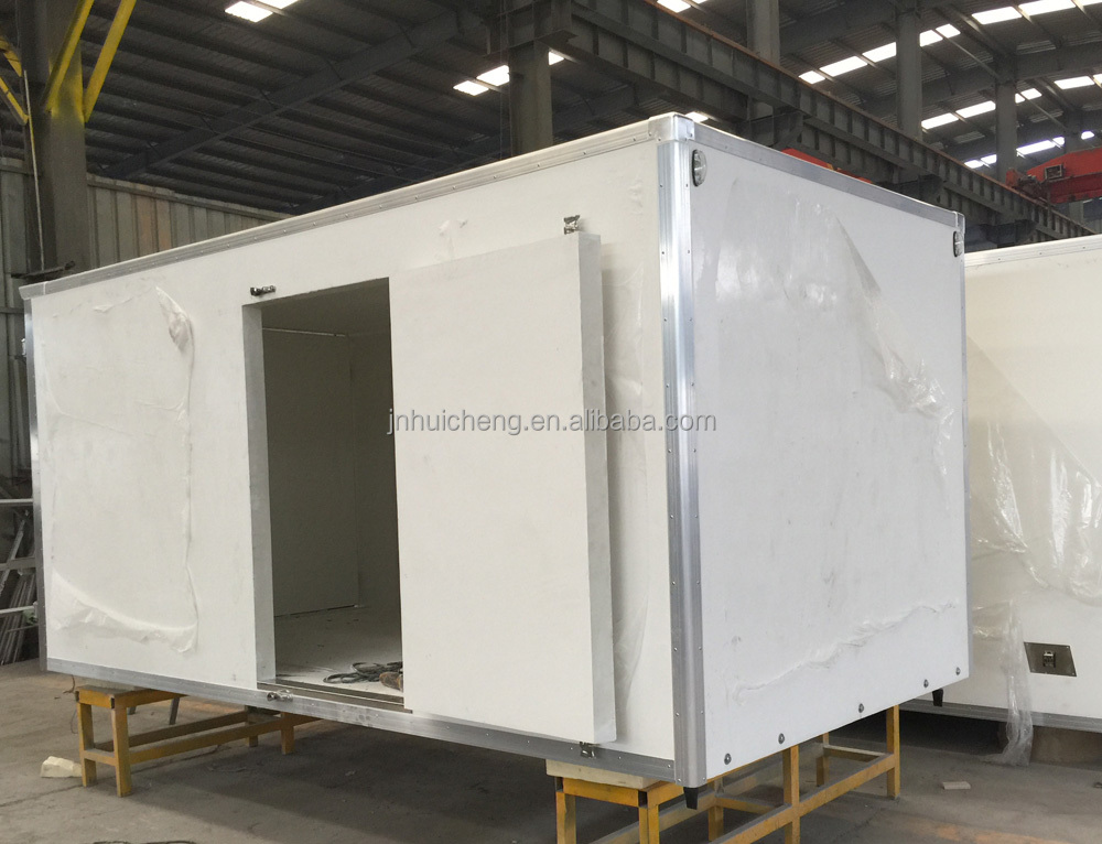high quality refregerated box van truck,reefer truck for sale
