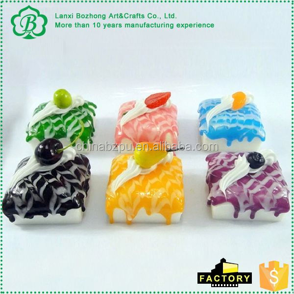 Factory Supply trendy style artificial food from manufacturer