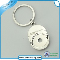 Promotional gift item fob custom silver key chains