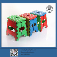Top Sales Step Folded Stool Plastic