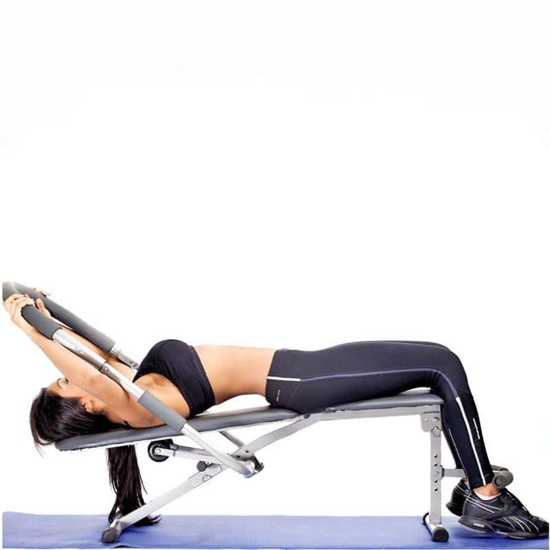 ab king fitness equipment / Classic Abdominal Train sit up bench