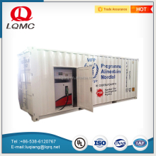 Mobile fuel oil carbon steel storage tank best gas filling station