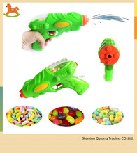 China shantou wholesale Plastic water gun candy filled toys, surprise cheap candy toy