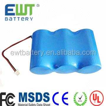 3.6v Primary lithium battery ER34615 19Ah with connector