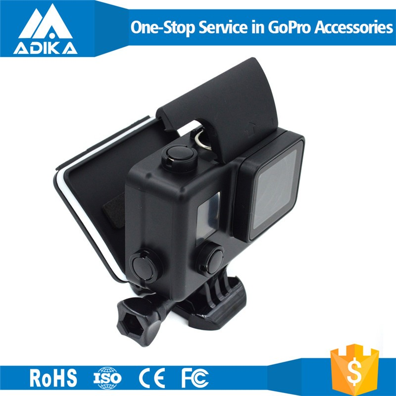 Gopros waterproof case Gopros Black Housing For Gopro Hero 3+ Camera with Bracket, Black Waterproof Case GP101B