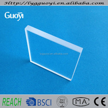quartz glass sheet as boiler water level sight glass