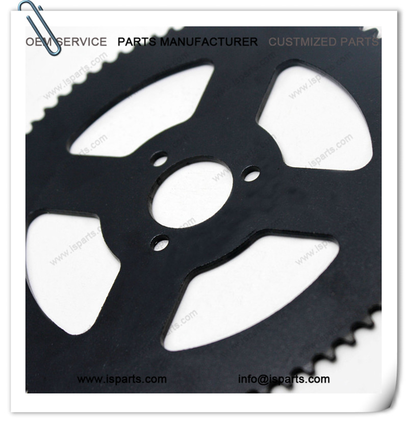 Go kart 74T 74 Teeth 6mm Chain 25 Axle Clutch sprockets