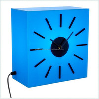 Acrylic table clocks with LED -E20151130111