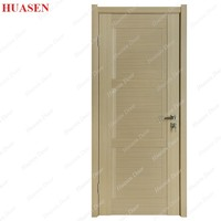 strong PVC door double side laminate or print pvc