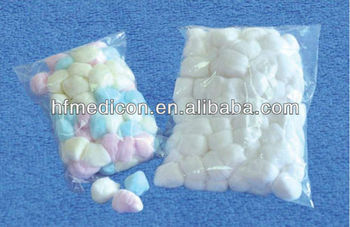 cotton balls for hospital use