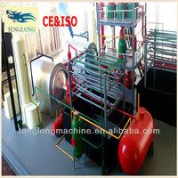 TL Waste tyre recycling distillation diesel fuel oil making machine