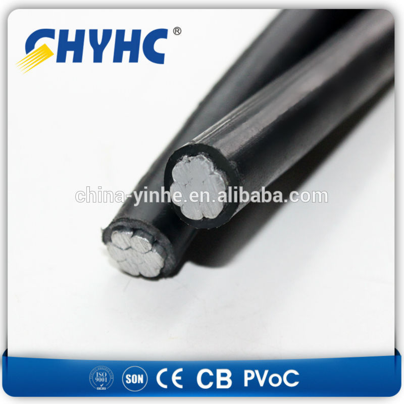 600/1000 XLPE Insulated PVC Sheathed LV 5.5x2.1 male connector dc power cable