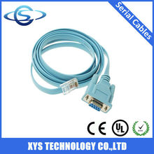 <span class=keywords><strong>Puerto</strong></span> DB9 RS232 Serial <span class=keywords><strong>Cable</strong></span> <span class=keywords><strong>de</strong></span> extremo a extremo RJ45