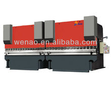 WC67K Dual CNC Hydraulic Bending Machine