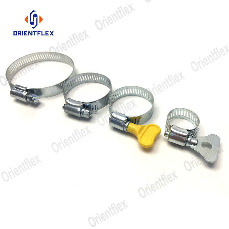 Flexible Quick Release American /Germany Type stainless steel hose clamp
