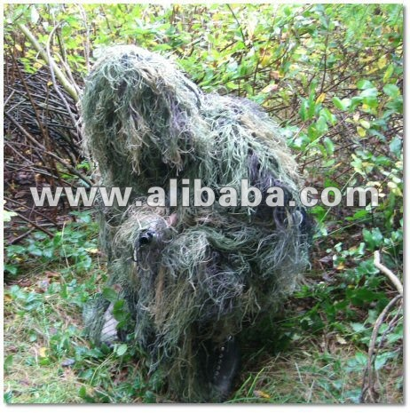 Ultralight Jacket and Pants Ghillie Suit for Paintball or Airsoft Suits ghillie suit