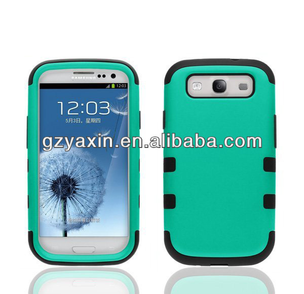 Case for galaxy s3 i9300,factory price wholesale robot case for samsung galaxy s3 factory price case
