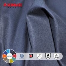 FR cotton fabric with proban for safety garments