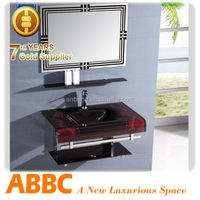wash basin mirror cabinet with stainless steel Series AM-237