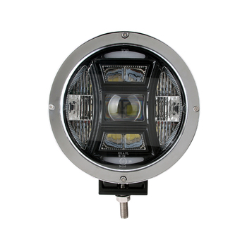 "Super Bright 9"" Emark 70W LED Driving Light For Jeep Offroad"