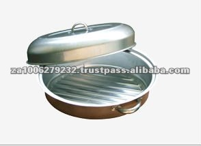 4.5LT High Quality Aluminium Roasting Pan
