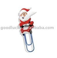 Christmas gift metal paperclips bookmarks