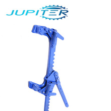 Electric fence high tensile wire stretcher tool for barbed wire