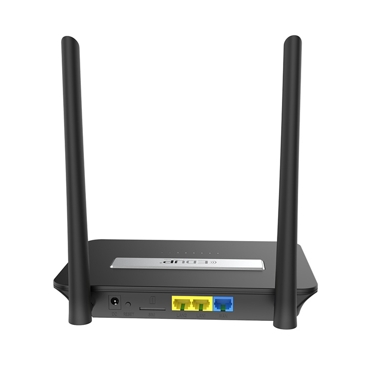 EDUP New Products 300Mbps 4G WiFi Router With SIM Card Slot