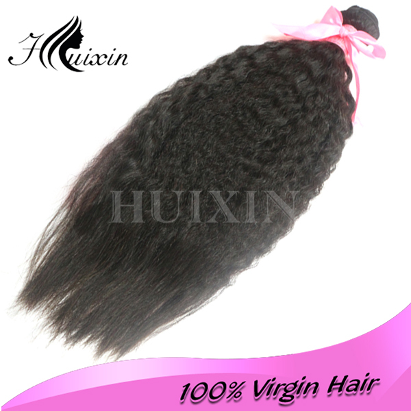 100% virgin healthy hair extension remy brazilian hair 22 inches yaki straight weave
