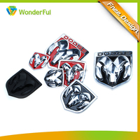 Car Body & Electric Appliance Use High Quality Heatproof Plastic Abs Enamel Label Badge Logo