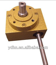 small worm speed reducer /worm gearbox/ manual worm gearbox