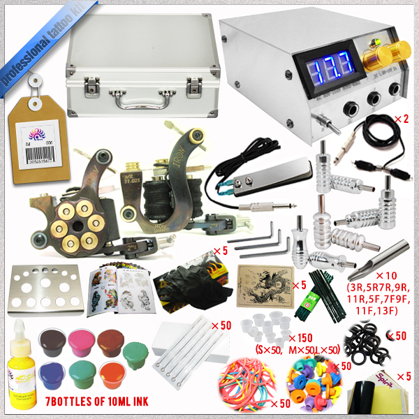 Hotsale! tattoo kits for body tattooing