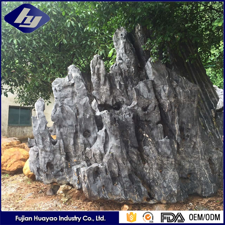 Natural Granite Garden Stones Customized Landscaping Rocks for Sale