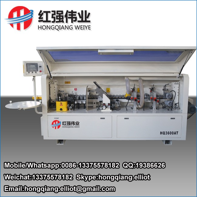 woodworking PVC MDF edge banding machine