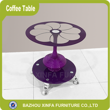 Best seller cheap glass top coffee table livingroom furniture