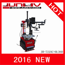 JUNHV 2016 hot sale CE approved equipment used for tire/ machine to change tires/tyre changer prices JH-T22AC+HL360