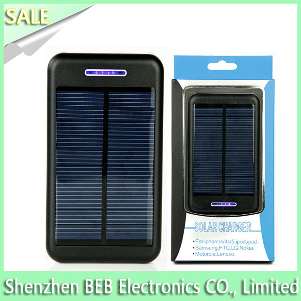 The cheapest 13800mah solar photovoltaic battery charger
