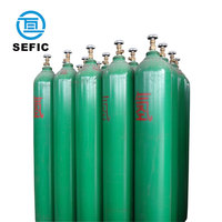 Professionally supply 40L 150bar high pressure hydrogen gas cylinder price