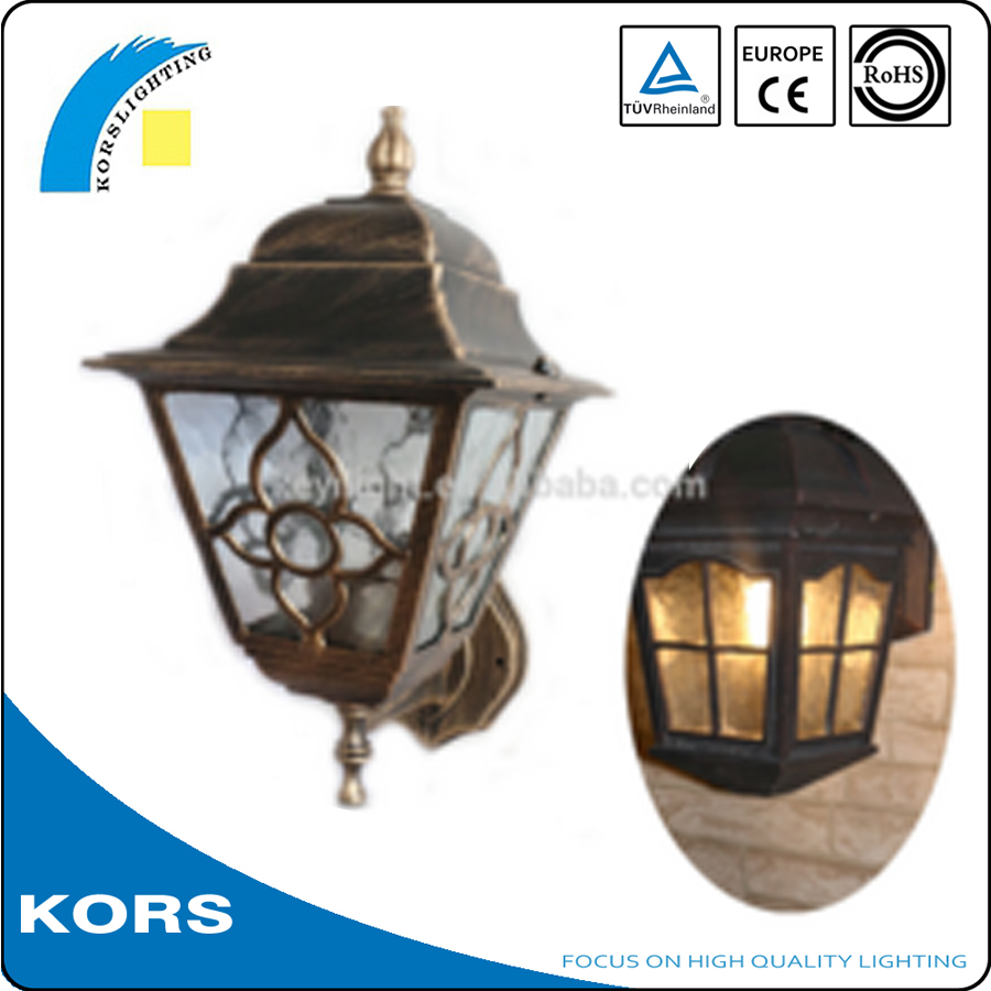 CE RoHS approved antique street light poles IP44 classical high quality outdoor garden light