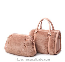 y-036 China suppliers bags women young ladies designer hand bags set handbag made in china
