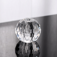 SJQ-006 Hot Sell Chandelier Carts Glass Ball with hole crystal ball