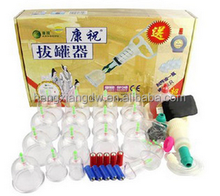 New Chinese Medical cups Vacuum Body Kangzhu Cupping Set C-8 Portable Massage Therapy and Health Care