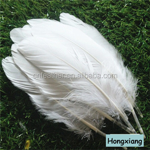 Cheap sale DIY colorful goose feathers
