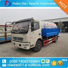 Jetting and vacuum combination sewer cleaning trucks 5000L sewage tank with 2000L water tank